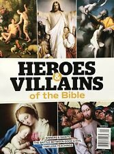 HEROES & VILLAINS OF THE BIBLE MAGAZINE 2019 BRAND NEW