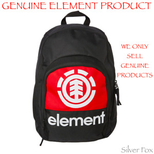 ELEMENT BLOCK BLACK BACKPACK SCHOOL TRAVEL SPORTS GYM BAG BRAND NEW WITH TAGS