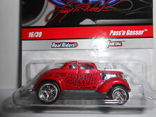 Hot Wheels 2009 Larry's Garage Series Signed CHASE Pass'n Gasser w/RRs (Red)