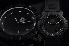 Luminox A.3051.BO BlackOut Mens Navy Seal Colormark 3050 Series Rubber 44mm