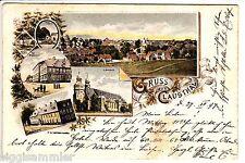 Saludos desde Clausthal ak 1897 montaña Academia resina iglesia mostrarían baja sajonia 505393 *