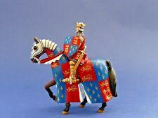 Cavalier moyen-âge Altaya N°28 Chevalier Edouard III d'Angleterre - Lead soldier