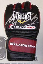 Michael Chandler Signed Official Bellator MMA Fight Glove BAS Beckett COA Auto'd