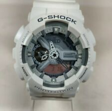 Casio G-Shock GShock GA-110C-7A GA110C White Grey Digital Analog Mens Watch 5146