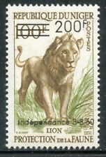 STAMP / TIMBRE DU NIGER NEUF N° 111 ** FAUNE / LION