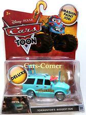 Disney Pixar Cars Toon Tormentors Biggest Fan #22 aus Monster Truck Mater OVP