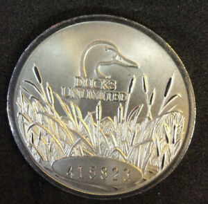 """Ducks Unlimited Collector Coin 2019 """"Final Decent"""""""
