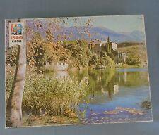 Milton Bradley York Jigsaw Puzzle 1978 Italian Castle #2 1500 Pieces