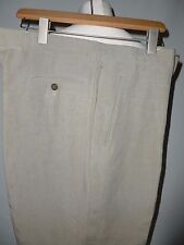 JAEGER LINEN &  SILK TROUSERS  UK  36W   30L BRITISH MADE