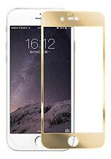 doré Apple Iphone 6 Plus verre trempé coloré écran en verre trempé 0,3 ml 9h