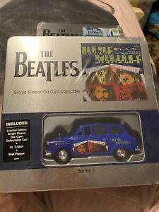 BEATLES SINGLE SLEEVE DIECAST COLLECTABLE SERIES LIMITED EDITION LARGE T-SHIRT
