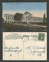 1916 NEW NATIONAL MUSEUM WASHINGTON DC POSTCARD