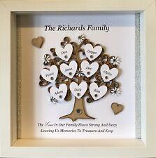 Personalised Family Tree, Christmas Gifts, Photo Frames, Christmas Keepsakes