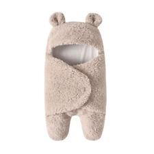 Fashion Wrap Blanket Baby Sleeping Bag Winter Modern Plush Swaddle AS