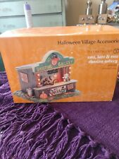 Department 56 Halloween Village Accessories- Cats, Bays & Rats Shooting Gallery
