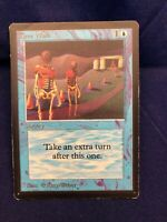 Magic the Gathering -Time Walk -Beta -MTG Trading Card Very Light Play