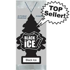 Little Trees Hanging Car and Home Air Freshener, Black Ice Pack of 24 Wholesale