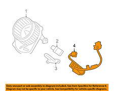 GM OEM Blower Motor Fan-Harness 25949869