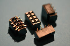 8 polige SMD Buchsenleiste  RM 2.54mm 180° H 5,1mm 20 Stck.