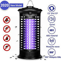 Electric Insect Bug Zapper Fly & Mosquito Killer Trap Lamp W/ UV Light US STOCK