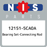 12151-5CA0A Nissan Bearing set-connecting rod 121515CA0A, New Genuine OEM Part