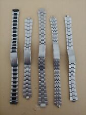 lotto n. 5 cinturini seiko lady vintage watch spare repair orologio