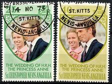 St. Christopher 1973 Royal Wedding Used Set  #R658