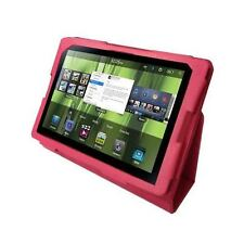 Luxury Pink PU Leather Flip Carry Case Stand Cover for Blackberry Playbook 7""