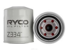 Ryco Oil Filter Z334 - Toyota Dyna Hiace KZH100 HILUX LANDCRUISER HZJ105 - X 8