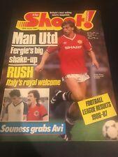 Shoot Magazine - 20 June 1987 / Alex Ferguson & Jesper Olsen / Manchester United