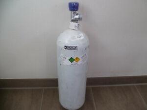 Sauerstoffflasche Sauerstoff Flasche Gasflasche 5L  voll TÜV  11//2030 Neuflasche