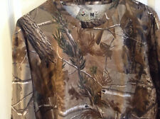REDHEAD CAMO  men Long Sleeve WITH POCKET Camo  HUNTING Shirt  Size M
