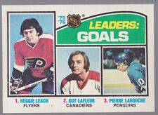 1976-77 OPC O-Pee-Chee #1 League Leaders Goals Mint Sharp