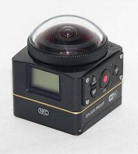 Kodak PIXPRO SP360 4K Extreme Set Action Cam Kamera Camera 360-Grad-Aufnahmen