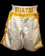 *New Joshua Buatsi Hand Signed Custom Made Boxing Trunks
