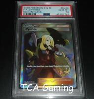 PSA 10 GEM MINT Cynthia SV82/SV94 SM Hidden Fates FULL ART Pokemon Card