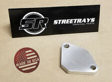 [SR] EGR VALVE DELETE PLATE BLOCK OFF for Many Chevy GMC Honda Jeep Nissan Cars