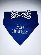 Pregnancy Dog Reveal, Dog Bandana, Big Brother, Maternity, Dog Lover Gift