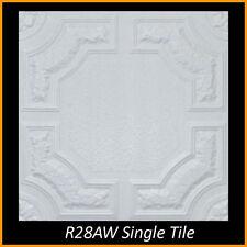 20x20 Styrofoam Glue Up Ceiling Tiles R28AW 280.8 sq ft LOT