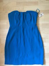 NWT Diane Von Furstenberg Blue Sahara Dress sz. 12