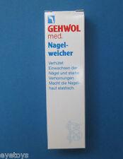 GEHWOL MED NAIL SOFTENER 15 ml/0.5 oz,ingrown toe nail, Orig. German Foot Care