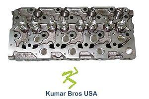 "New Kumar Bros USA Complete Cylinder Head for Bobcat S160 ""Kubota V2203"""