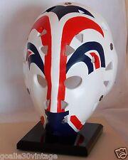 Grant Fuhr Vintage Full Sized Replica Goalie Mask - Edmonton Oilers