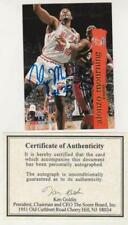 Signed - Alonzo Mourning 1995 NBA Hoops Card - Autograph with COA