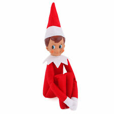 On The Shelf Figure Elf Magic Christmas Red Boy Toy Kids Plush Doll Xmas Gift