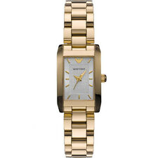 NEW EMPORIO ARMANI LADIES CLASSIC GOLD WATCH - AR0360 - RRP £359