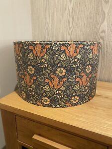 Handmade Lampshade in William Morris Compton floral Fabric, Various sizes