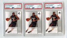 3 2011 SP Authentic #27 Kawhi Leonard RC Rookie PSA 10 Lot Clippers