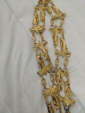 Rare vintage Atelier Nina gold angel belt