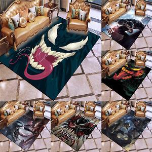 Marvel Venom Superhero Flannel Non-Slip Area Rugs Living Room Floor Mat Carpet#3